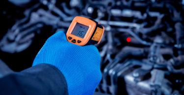 Sensor de temperatura do motor